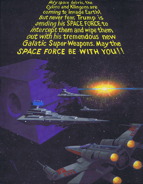 May the Space Force Be With You
