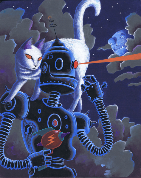The Killer Team (Robots Love Cats II)